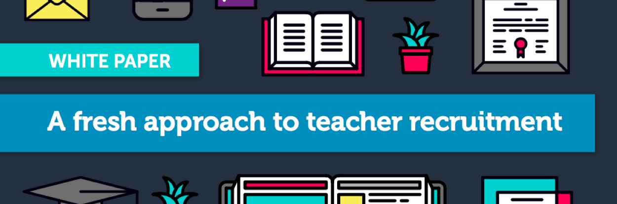 A fresh approach to teacher recruitment